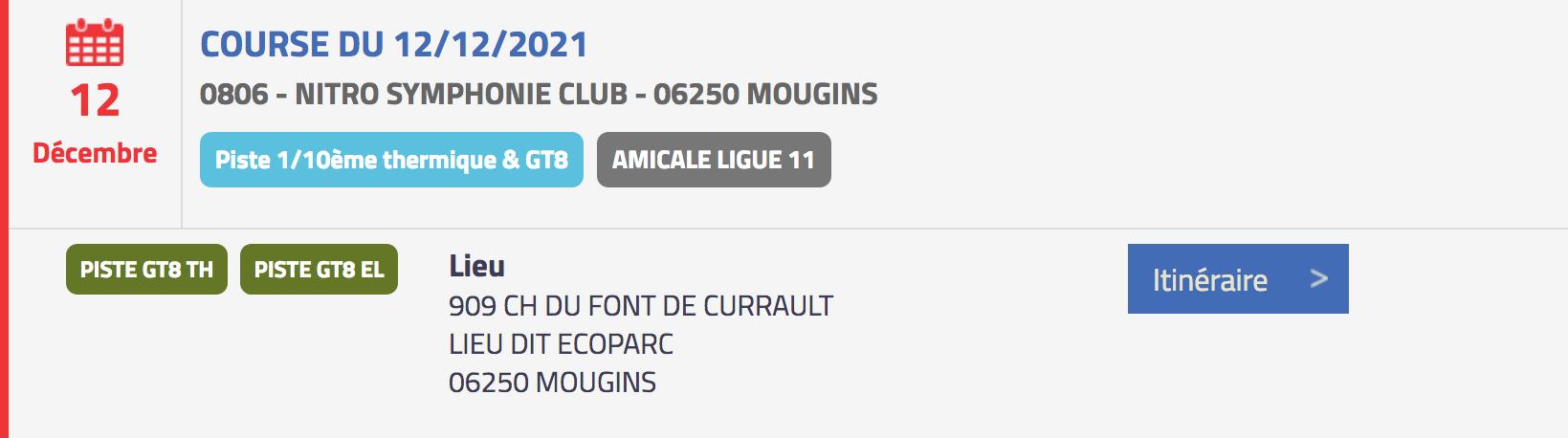 course gt8 mougins